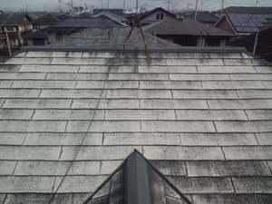 中川様(守山市)屋根洗浄後