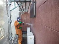 中川様(守山市)外壁洗浄