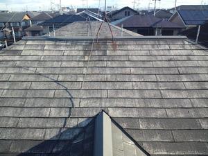 中川様(守山市)屋根施工前